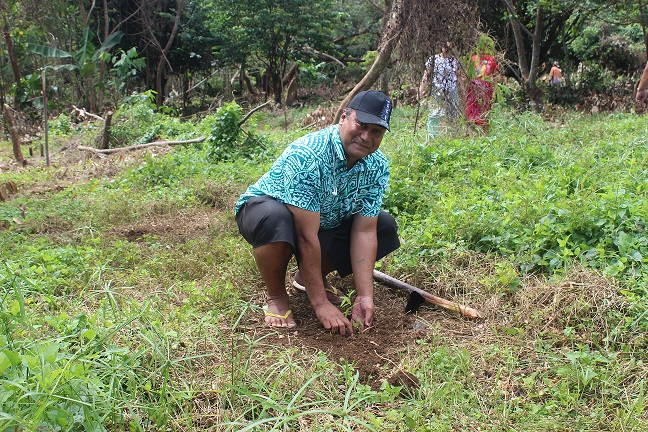 vaipouli tree planting-Environment week 2017 closing